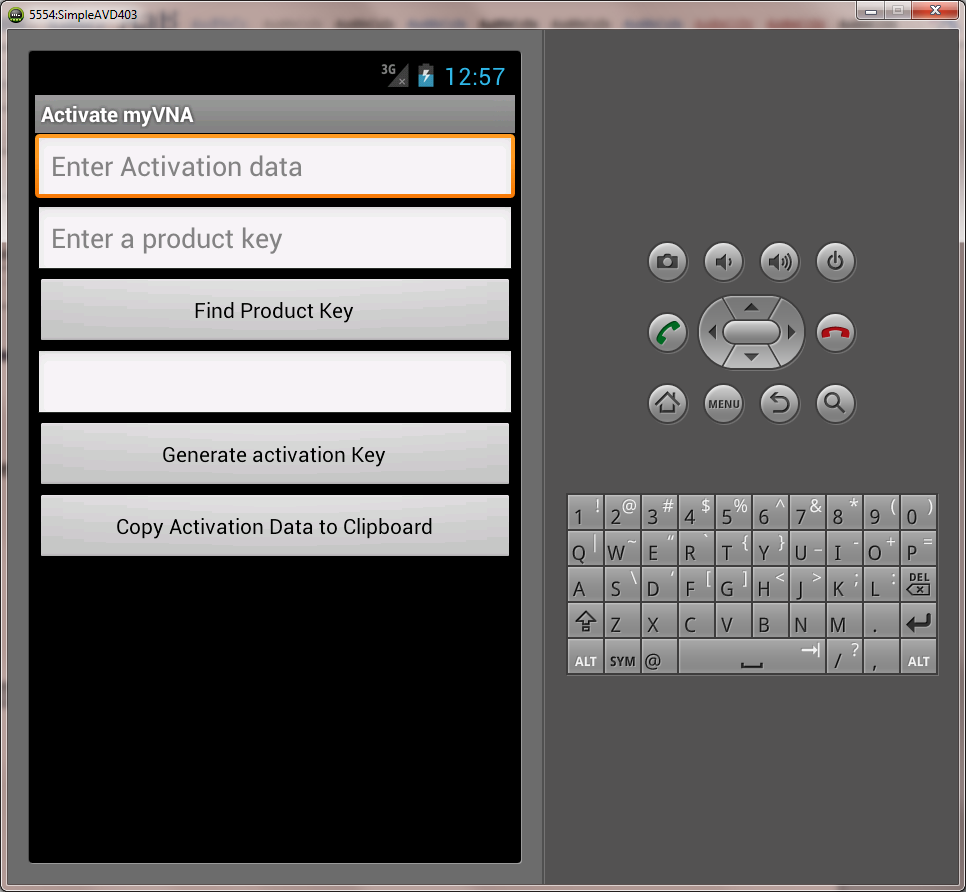android key gen